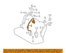 TOYOTA OEM 2015 Prius Rear Seat Belt-Center Middle Assy 7335047031B0