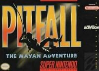 Pitfall The Mayan Adventure - Nintendo SNES Game Authentic