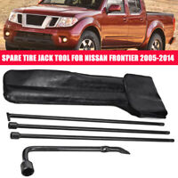 Spare Tire Jack Tool Lug Wrench Kit & PU Leather Case For Nissan Frontier