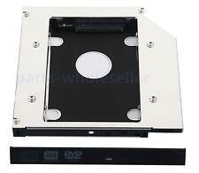 2nd SATA HD HDD SSD Caddy Adattatore per Dell Vostro 1320 1450 1520 1540 1720