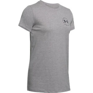 Under Armour 1333372 Women's UA Freedom Banner Logo Graphic Tee Athletic T-Shirt