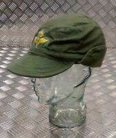 Genuine Swedish Army Green M59 Combat/Fatigue Base-ball Cap/Hat - All Sizes G1