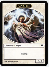 MTG X4: Angel Token, Innistrad, C, NM-Mint - FREE US SHIPPING!