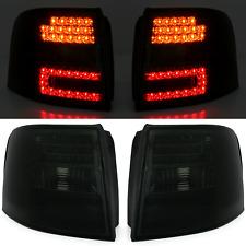 Audi A6 C5 Avant 98-05 LED Rückleuchten Set Schwarz von Depo Kombi links rechts