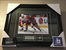 MONTREAL CANADIENS - ALEX GALCHENYUK unsigned 8x10 Hockey Frame Cadre vs DET