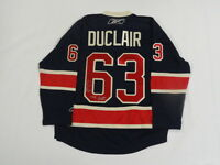 ANTHONY DUCLAIR SIGNED NEW YORK RANGERS JERSEY LICENSED THE DUKE EXACT PROOF