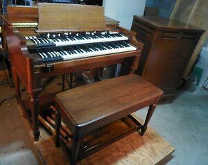 '58 B3 Hammond Organ, Bench, Pedal Board  & Leslie Speaker 251 with 122 Amp