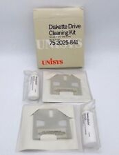 """Vintage Unisys Diskette Drive Head Cleaning Kit 3.5"""" Computer Data Maintenance"""