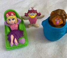 Jim Henson The Muppets Vintage 1995 Collectible Bath Toy Figures Lot