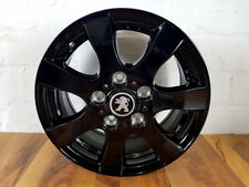 4x Alloy Wheels New Peugeot Boxer 15 Inch Citroen Black Summer Tyre