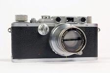 Leica IIIa 35mm Rangefinder Camera, 50mm Summar f2 Lens EX+