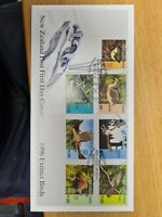 New zealand stamps  FDC 1996 Extinct Birds
