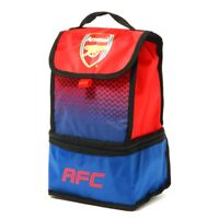 Arsenal Fade Design Lunch Bag - Football Official School Club Fc Insulated Box