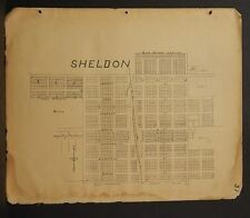 Missouri Vernon County Map Sheldon  1928  !R5#08