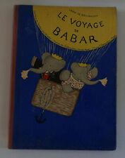 Nouvelle annonce Jean de Brunhoff LE VOYAGE DE BABAR éditions du jardin des modes 1932