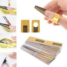 Lot de Chablons pour Extension d'Ongles en Gel Art Gel UV Manucure