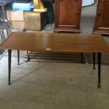 Vintage Retro 60s/70s Coffee Table with mag rack