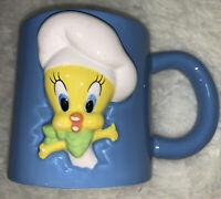 Chef Tweety Bird Warner Bros Studio Store 1997 Mug As Is
