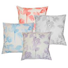 """Amelina Luxury Floral Filled Cushions (18x18"""") - 4 PACK FILLED CUSHIONS"""