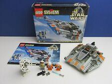 BOXED lego 7130 complete STAR WARS SNOWSPEEDER VINTAGE set LUKE MINIFIGURE