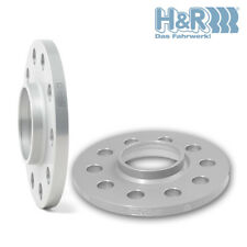 H/&R 20mm Silver Bolt On Wheel Spacers for 2006-2015 Lexus RX400H