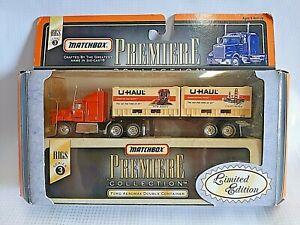 Matchbox Premiere Collection Semi-Truck Trailer U-Haul Rig Series 3 Premier NIB