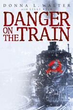 Danger on the Train by Donna L. Walter (2013, Hardcover)