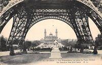 BT13504 le Trocadero vu sous la tour eiffel Paris            France