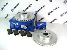 Renault Sport Clio 197 200 2.0 16v 03-08 Front Brake Discs & Pads Pagid Pair
