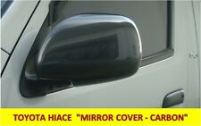 MIRROR COVER CARBON FOR  TOYOTA HIACE 2008-2010