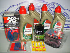 MANTENIMIENTO COMPLETO CASTROL POWER1 RACING 10W-40 KAWASAKI Z 1000 AÑOS 04 2005