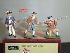 Britains 17447 american revolution minutemen metal toy soldier figure set 2