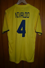MACCABI TEL AVIV ISRAEL MATCH ISSUE FOOTBALL SHIRT JERSEY UNDER ARMOUR NIVALDO