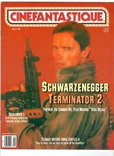 WoW! Cinefantastique V21#5 Total Recall! Terminator 2! Gate II! Puppet Master 2!