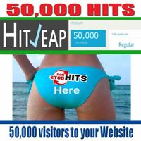 HITLEAP ACCOUNT WITH 50000 HITS - CHEAP PRICE - TRAFFIC EXCHANGE