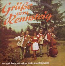 HERBERT ROTH UND WALTRAUT SCHULZ  - GRUSSE VOM RENNSTEIG -  LP