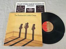 THE SHADOWS 20 GOLDEN GREATS + INNER 1977 UK RELEASE LP
