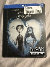 Corpse Bride New Blu-ray Fye exclusive steelbook Tim Burton Johnny Depp animated