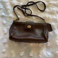 Vintage Leather COACH  Crossbody Shoulder Purse