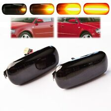 for Audi Dynamic Flowing LED Side Marker A3 8P A6 A4 B6 B7 8E Repeater Lights
