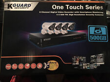 8-Channel 500gb Home Security Dvr System (comes with 4 cameras) Free Shipping!