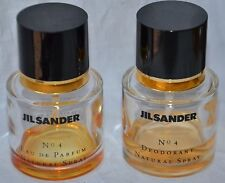 2 Flakon Jil Sander No 4 Eau de Parfum + Deodorant