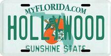 Hollywood Florida Aluminum License Plate