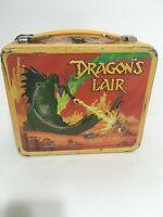 Vintage 1983 Dragon's Lair Metal Lunch Box Stranger Things