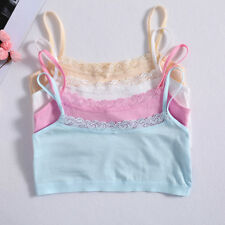 Young Girls Bra Puberty Teenage Soft Cotton Lace Underwear Training Bra Clothing