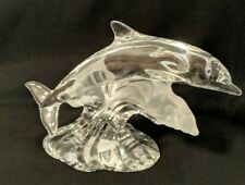 Gorgeous Lenox Crystal Majestic Dolphin. 1996. Mint. No chips or cracks.