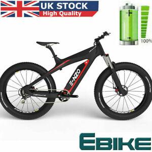 Electric FAT Mountain Bike E-NZO Diamond Lite 36V Suspension e-Bike