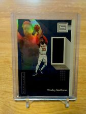 2018-19 PANINI STATUS WESLEY MATTHEWS GAME-USED-JERSEY INDIANA PACERS