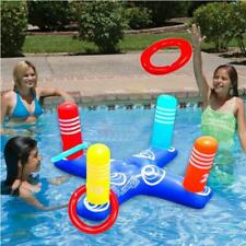 Children and adults inflatable cross ring toss game swimming pool toys