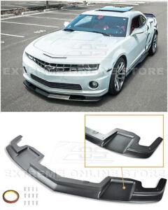For 10-13 Camaro SS V8 | EOS Body Kit TL1 Style Front Bumper Lower Lip Splitter
